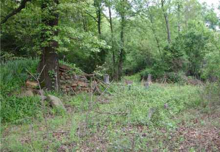 *WEST CEMETERY OVERVIEW,  - Johnson County, Arkansas |  *WEST CEMETERY OVERVIEW - Arkansas Gravestone Photos