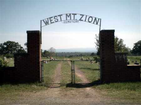 *WEST MOUNT ZION ENTRANCE, . - Johnson County, Arkansas | . *WEST MOUNT ZION ENTRANCE - Arkansas Gravestone Photos
