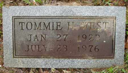WEST, TOMMIE H, - Johnson County, Arkansas | TOMMIE H, WEST - Arkansas Gravestone Photos