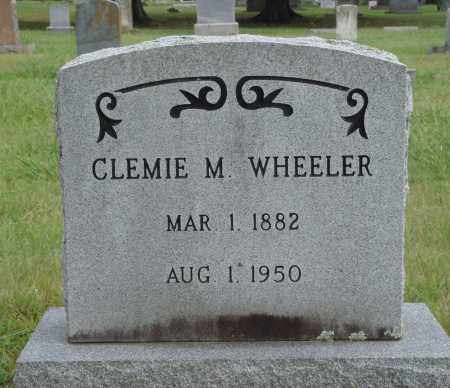 WHEELER, CLEMIE M. - Johnson County, Arkansas | CLEMIE M. WHEELER - Arkansas Gravestone Photos