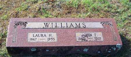 WILLIAMS, LAURA H - Johnson County, Arkansas | LAURA H WILLIAMS - Arkansas Gravestone Photos