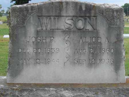 WILSON, JOSH P. - Johnson County, Arkansas | JOSH P. WILSON - Arkansas Gravestone Photos