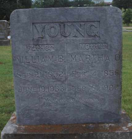 YOUNG, WILLIAM B. - Johnson County, Arkansas | WILLIAM B. YOUNG - Arkansas Gravestone Photos