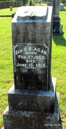 AGAN, G B - Lafayette County, Arkansas | G B AGAN - Arkansas Gravestone Photos