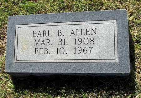 ALLEN, EARL B - Lafayette County, Arkansas | EARL B ALLEN - Arkansas Gravestone Photos