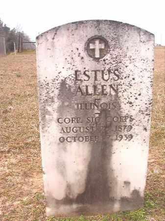 ALLEN (VETERAN), ESTUS - Lafayette County, Arkansas | ESTUS ALLEN (VETERAN) - Arkansas Gravestone Photos