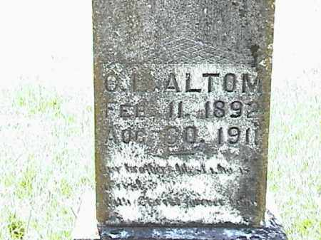 ALTOM, O. L. - Lafayette County, Arkansas | O. L. ALTOM - Arkansas Gravestone Photos