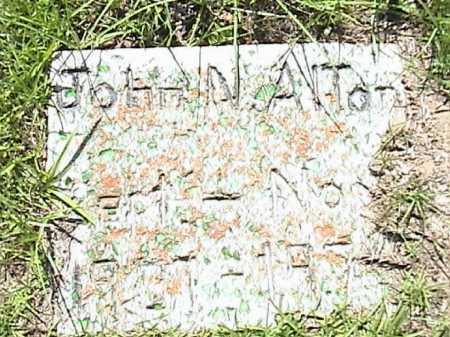 ALTON, JOHN N. - Lafayette County, Arkansas | JOHN N. ALTON - Arkansas Gravestone Photos