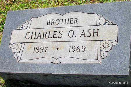 ASH, CHARLES O - Lafayette County, Arkansas | CHARLES O ASH - Arkansas Gravestone Photos