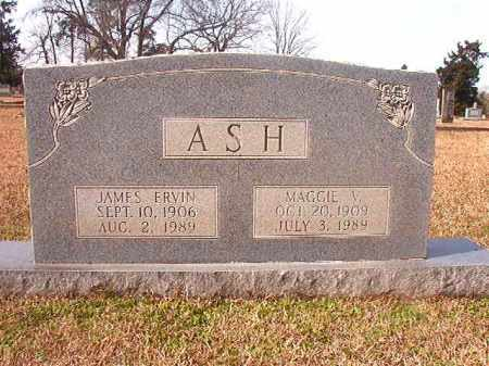 ASH, JAMES ERVIN - Lafayette County, Arkansas | JAMES ERVIN ASH - Arkansas Gravestone Photos