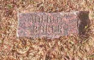 BAKER, INFANT - Lafayette County, Arkansas | INFANT BAKER - Arkansas Gravestone Photos