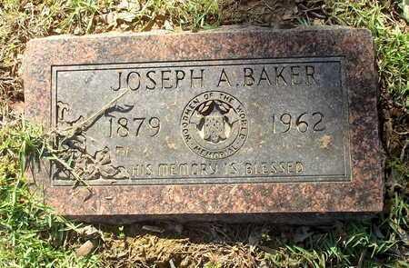 BAKER, JOSEPH A - Lafayette County, Arkansas | JOSEPH A BAKER - Arkansas Gravestone Photos
