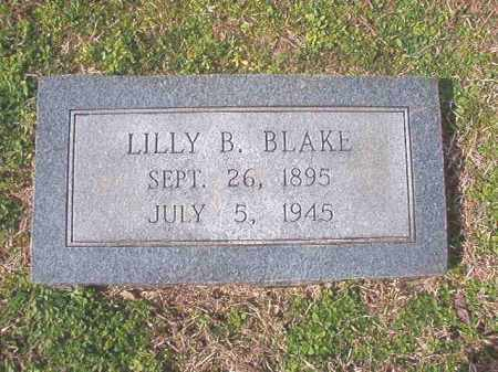 BLAKE, LILLY B - Lafayette County, Arkansas | LILLY B BLAKE - Arkansas Gravestone Photos