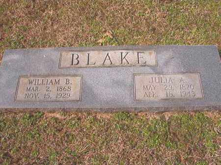 BLAKE, JULIA A - Lafayette County, Arkansas | JULIA A BLAKE - Arkansas Gravestone Photos
