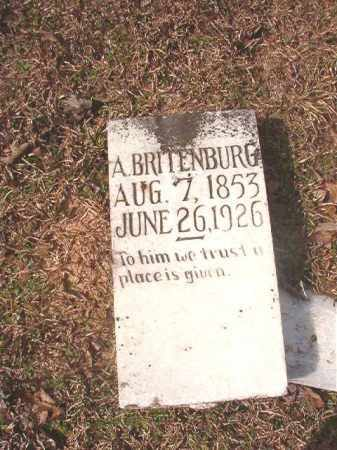 BRITENBURG, A - Lafayette County, Arkansas | A BRITENBURG - Arkansas Gravestone Photos