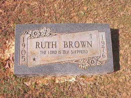 BROWN, RUTH - Lafayette County, Arkansas | RUTH BROWN - Arkansas Gravestone Photos