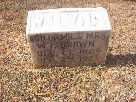 BROWN, WILLIAM LYNN - Lafayette County, Arkansas | WILLIAM LYNN BROWN - Arkansas Gravestone Photos
