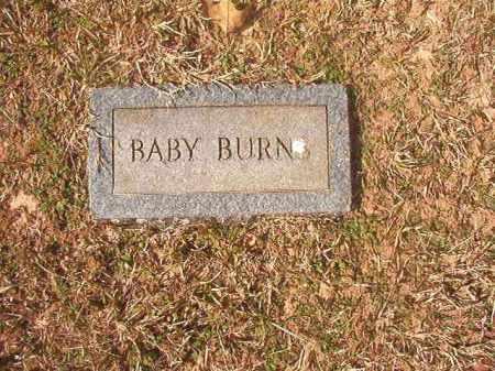 BURNS, BABY - Lafayette County, Arkansas | BABY BURNS - Arkansas Gravestone Photos