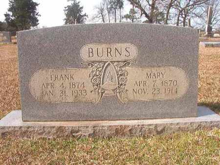BURNS, MARY - Lafayette County, Arkansas | MARY BURNS - Arkansas Gravestone Photos