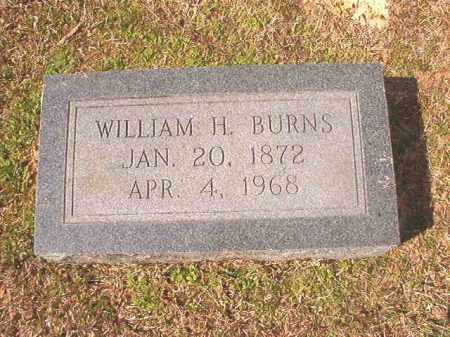 BURNS, WILLIAM H - Lafayette County, Arkansas | WILLIAM H BURNS - Arkansas Gravestone Photos