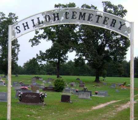 *SHILOH CEMETERY GATE,  - Lafayette County, Arkansas |  *SHILOH CEMETERY GATE - Arkansas Gravestone Photos
