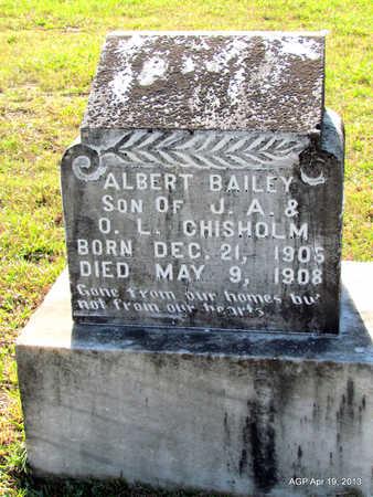 CHISHOLM, ALBERT BAILEY - Lafayette County, Arkansas | ALBERT BAILEY CHISHOLM - Arkansas Gravestone Photos
