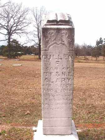CLARY, GULLEN F - Lafayette County, Arkansas | GULLEN F CLARY - Arkansas Gravestone Photos