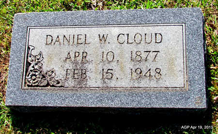 CLOUD, DANIEL W - Lafayette County, Arkansas | DANIEL W CLOUD - Arkansas Gravestone Photos