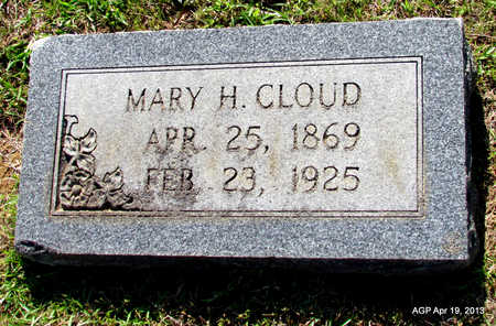 CLOUD, MARY H - Lafayette County, Arkansas | MARY H CLOUD - Arkansas Gravestone Photos