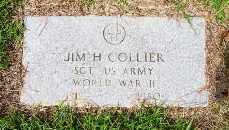COLLIER (VETERAN WWII), JIM H. - Lafayette County, Arkansas | JIM H. COLLIER (VETERAN WWII) - Arkansas Gravestone Photos