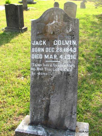COLVIN, JACK - Lafayette County, Arkansas | JACK COLVIN - Arkansas Gravestone Photos