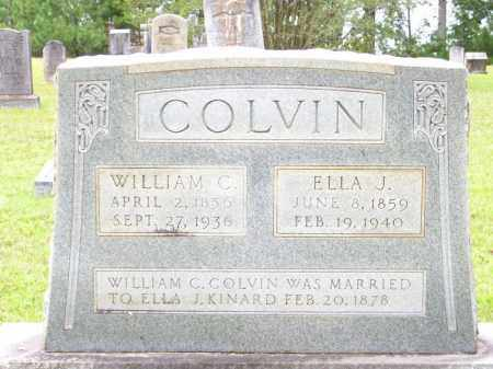 COLVIN, ELLA J - Lafayette County, Arkansas | ELLA J COLVIN - Arkansas Gravestone Photos