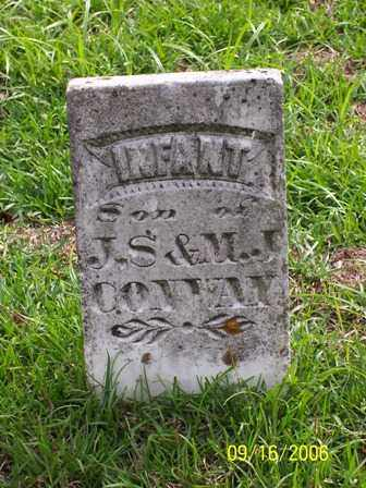 CONWAY, INFANT SON - Lafayette County, Arkansas   INFANT SON CONWAY - Arkansas Gravestone Photos