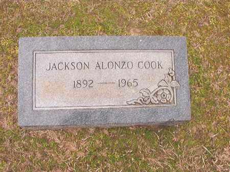 COOK, JACKSON ALONZO - Lafayette County, Arkansas | JACKSON ALONZO COOK - Arkansas Gravestone Photos