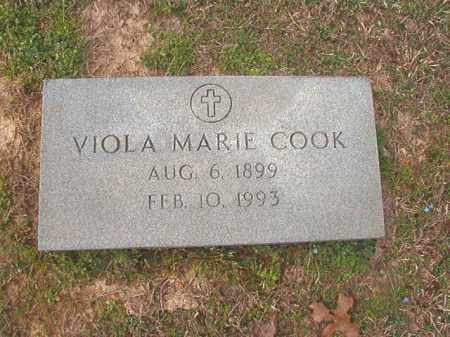 COOK, VIOLA MARIE - Lafayette County, Arkansas | VIOLA MARIE COOK - Arkansas Gravestone Photos