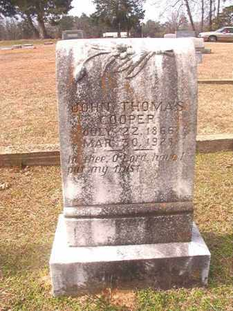 COOPER, JOHN THOMAS - Lafayette County, Arkansas | JOHN THOMAS COOPER - Arkansas Gravestone Photos