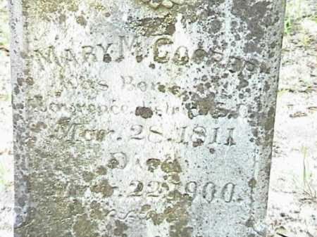COOPER, MARY MAGDALINE (CLOSE UP) - Lafayette County, Arkansas | MARY MAGDALINE (CLOSE UP) COOPER - Arkansas Gravestone Photos