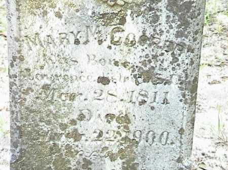 MASSEY COOPER, MARY MAGDALINE (CLOSE UP) - Lafayette County, Arkansas | MARY MAGDALINE (CLOSE UP) MASSEY COOPER - Arkansas Gravestone Photos