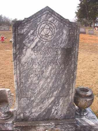 DAVIS, FANNIE - Lafayette County, Arkansas | FANNIE DAVIS - Arkansas Gravestone Photos
