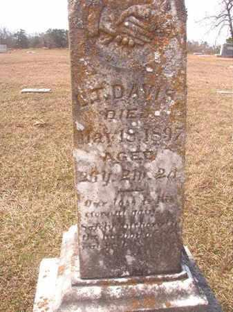 DAVIS, L T - Lafayette County, Arkansas | L T DAVIS - Arkansas Gravestone Photos