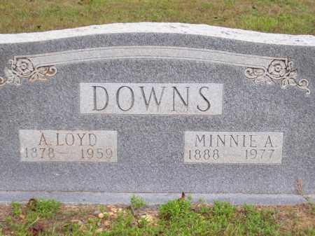 DOWNS, MINNIE ADDIE - Lafayette County, Arkansas | MINNIE ADDIE DOWNS - Arkansas Gravestone Photos