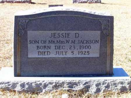 JACKSON, JESSIE D - Lafayette County, Arkansas | JESSIE D JACKSON - Arkansas Gravestone Photos