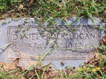 LOGAN, DANIEL POLK - Lafayette County, Arkansas | DANIEL POLK LOGAN - Arkansas Gravestone Photos