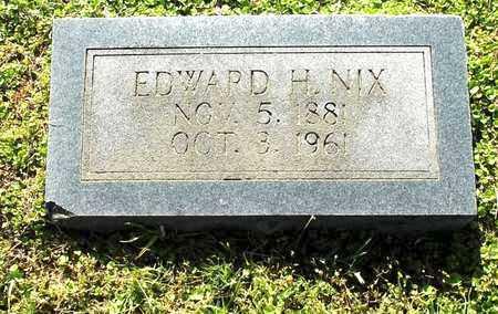 NIX, EDWARD H - Lafayette County, Arkansas | EDWARD H NIX - Arkansas Gravestone Photos