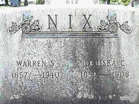 NIX, WARREN S. - Lafayette County, Arkansas | WARREN S. NIX - Arkansas Gravestone Photos