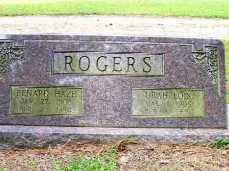 ROGERS, BENARD HAZE - Lafayette County, Arkansas | BENARD HAZE ROGERS - Arkansas Gravestone Photos