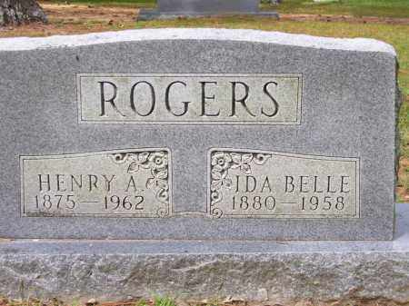 ROGERS, IDA BELLE - Lafayette County, Arkansas | IDA BELLE ROGERS - Arkansas Gravestone Photos