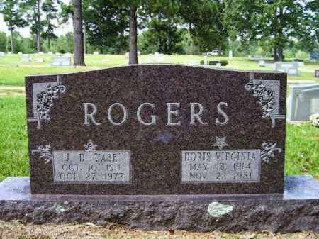 ROGERS, DORIS VIRGINIA - Lafayette County, Arkansas | DORIS VIRGINIA ROGERS - Arkansas Gravestone Photos