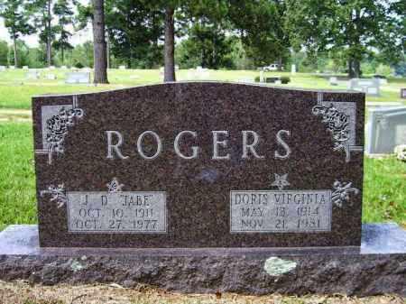 "ROGERS, J. D. ""JABE"" - Lafayette County, Arkansas | J. D. ""JABE"" ROGERS - Arkansas Gravestone Photos"