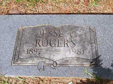 ROGERS, JESSE C. - Lafayette County, Arkansas | JESSE C. ROGERS - Arkansas Gravestone Photos